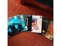 Six Sinatra LPs