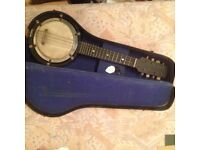 Vintage banjo ( mahogany)
