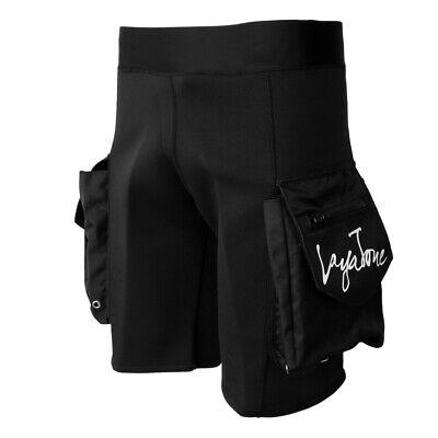Männer 3mm Neoprenanzug Shorts & Pockets Tauchen Surfen Kajak Kurze Hosen