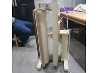 Rotary iron press
