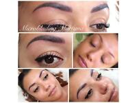 Microblading and Ombre Eyebrows, eyeliner
