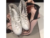 2 pairs of ice skates for sale size 5 and 6