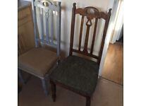 2 gorgeous dining chairs