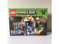 New! Lego Minecraft 21119 The Dungeon