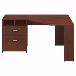 Wheaton Corner Computer Desk by Bush Furniture - Brand New