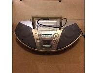 Radio cassette CD player Panasonic