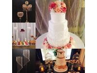Events / Weddings / Party's / Cakes,Centrepieces and More service's