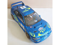 TAMIYA 1/10 SUBARU IMPREZA WRC RADIO CONTROLLED CAR & EXTRAS