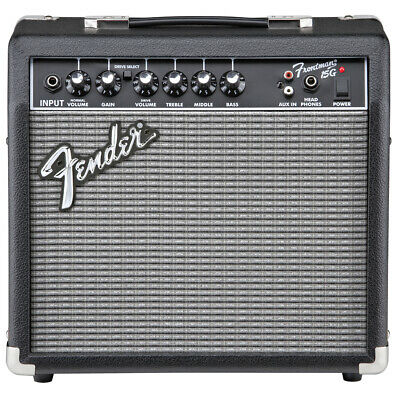 Fender Frontman 15G Guitar Amp - 15 Watt 1x8'' 2 Channel Amplifier