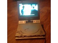 Portable DVD player for house or car. DC or AC. New
