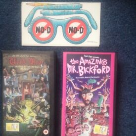 Zappas ,the amazing mr bickford VHS