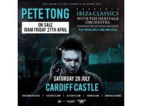 2 Tickets - Pete Tong Ibiza Classics Cardiff Castle