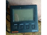 Autohelm ST50 depth gauge