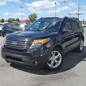 2015 Ford Explorer LIMITED CUIR NAVI TOIT MAGS AWD