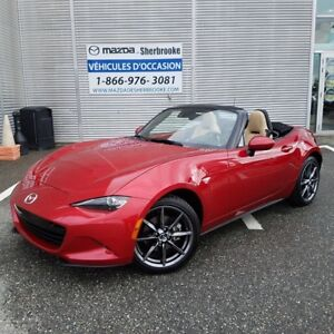 2017 Mazda MX-5 GT 4375km automatique cuir navigation