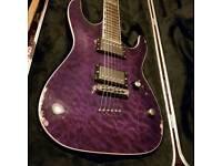 ESP ltd guitar mh401 - with Ibanez hard case - very roadworn 😁