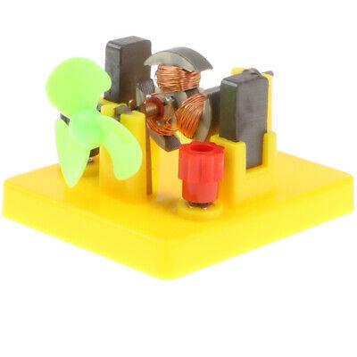 Kids Children Mini Motor Fan Model Physics Science DIY Toy E