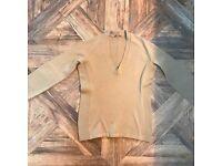 Prada elbow patch jumper