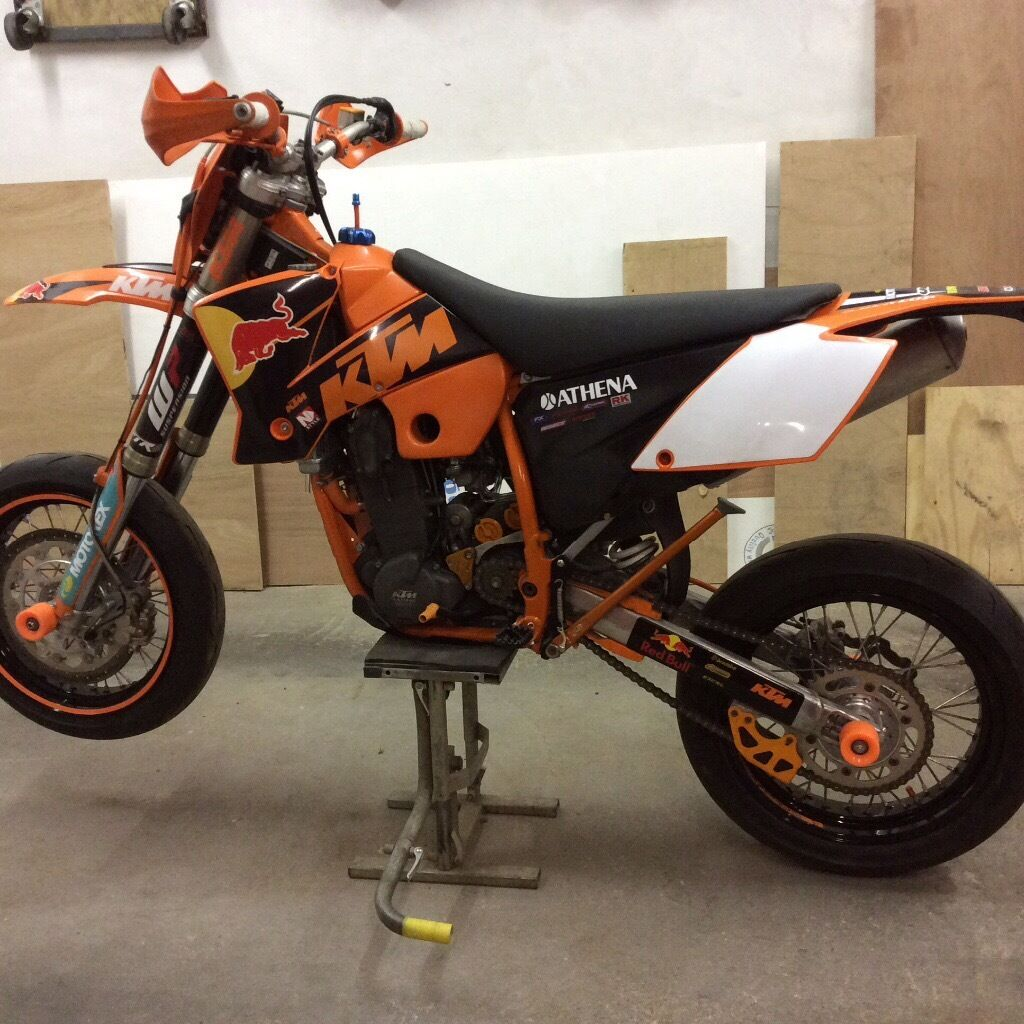 ktm 525 exc racing supermoto in sunderland tyne and. Black Bedroom Furniture Sets. Home Design Ideas