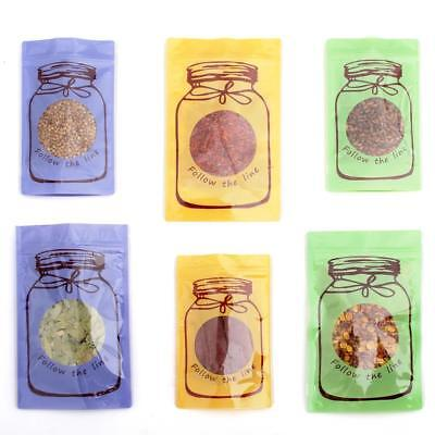 Polyethylene Stand Up Ziplock Bags With Canister Design In Variety of Colors ()