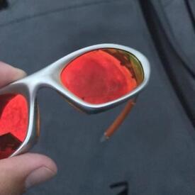 Vintage Oakley Twenty XX Silver/Polarized Sunglasses