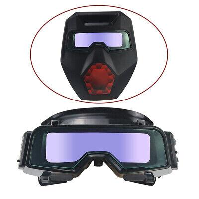 Solar Powered Auto Darkening Welding Mask Goggles Welding Glasses Adjustable