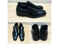 **BRAND NEW** Mens size 8 faux leather shoes