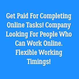 £350 Part Time For Online Market Research Work- Immediate Start