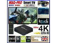 MXQ BEST ANDROID TV BOXS . ALL TYPES. HD SMART TV 4K ULTRA