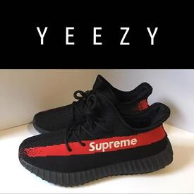Yeezy Boost Supreme 350 V2 Sneakers UK Size 9.5