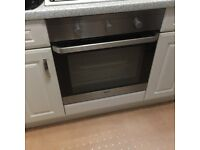 BEKO Electric Built in Fan Oven in Silver - Perfect Working Order - Clean & Ready