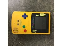 Limited Edition Pokemon Gameboy Colour Console Yellow
