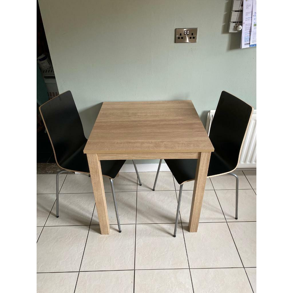 Next Table and 2 Ikea Chairs! | in Dunmurry, Belfast | Gumtree