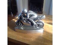Pewter motorcycle model