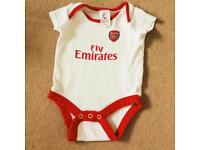 Arsenal baby bodysuits