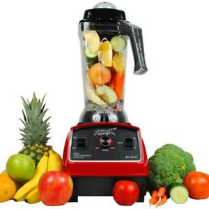 Commercial Smoothie Blender / Juice Blender for Blends Frozen Fruits, Vegetables, Greens 1500W 3HP - Free Shipping