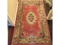 Pure wool Chinese rug