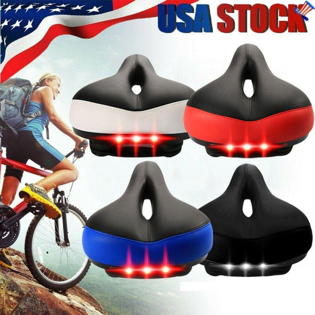 Bicycle Wide Big Bum Bike Gel Extra Comfort Sporty Soft Pad