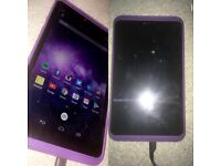 Purple hudl 2 tablet• perfect condition come with case, charger and box