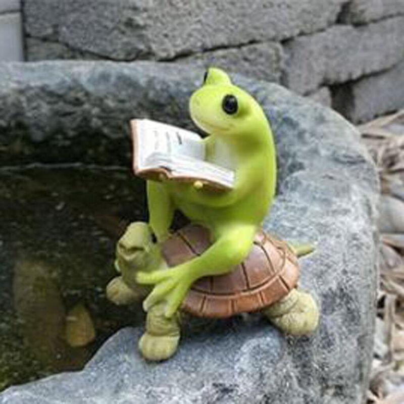 Cute+Frog+Fairy+Garden+Ornament+Miniature+Landscape+Plant+Pot+Dollhouse+%231