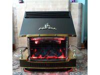 Coal effect Gas Fire - Fire Flame Deluxe