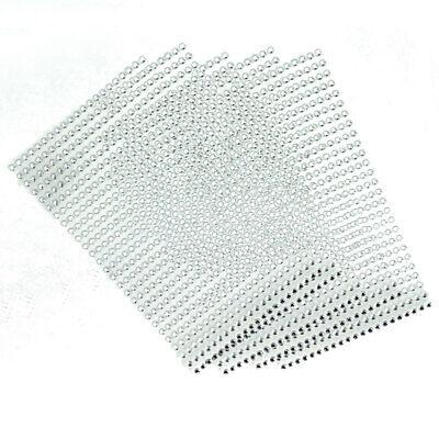 5pcs Bling Gem Sticker Sparkly Strip Sticker Adhesive Stick on Crystal -