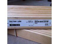 2 x Ikea Sultan Slats 80 x 200 for Kingsize Bed Read Description / Can Deliver