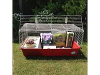 Small pets cage ideal for rabbit, guinea-pig etc