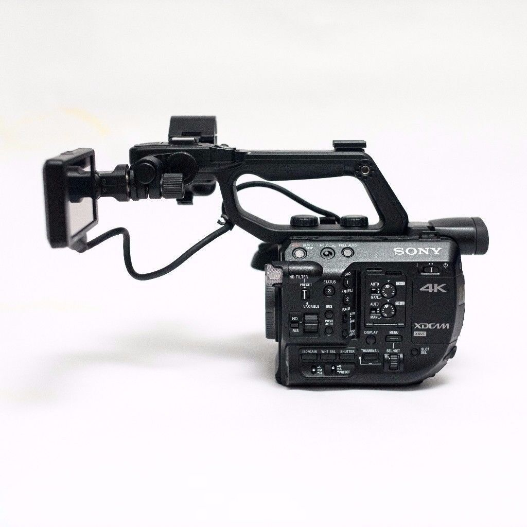 SONY PXW-FS5 4K Super 35 Camcorder with RAW