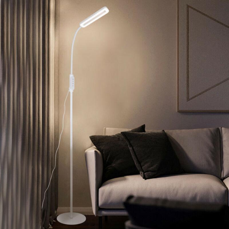 Adjustable LED Floor Lamp Light Standing Reading Living Room