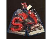 MARVEL SPIDERMAN Swim Beach Shorts