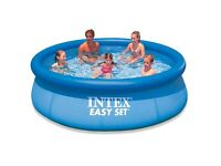 10ft Fast Set Intex Family Pool with heating and lots of extras