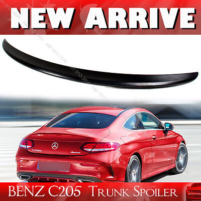 Painted Mercedes BENZ C-Class C205 Coupe Rear Trunk Spoiler C180 C350 2016