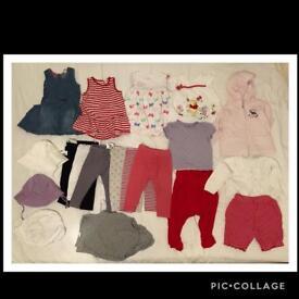9-12 mth summer bundle baby girl